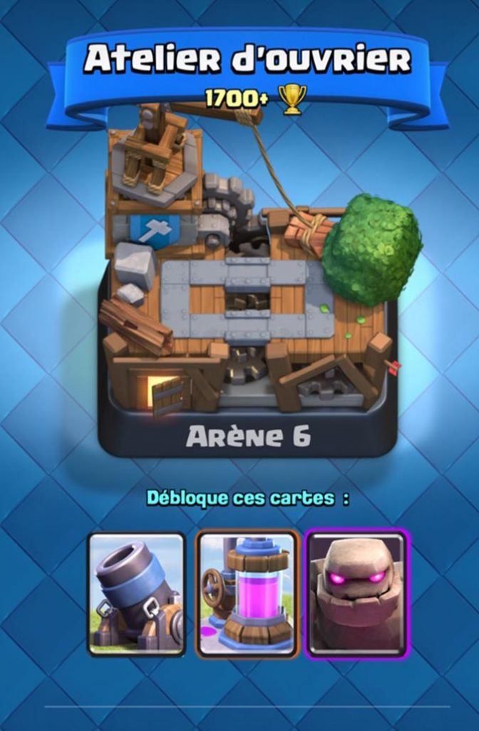 Ar ne 6 atelier d 39 ouvrier builder 39 s workshop ar nes for Clash royale meilleur deck arene 7