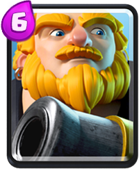 Géant Royal Carte Clash Royale (Royal Giant)