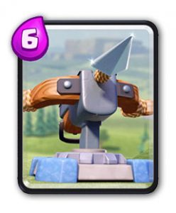 Carte Arc-X Clash Royale (X-Bow)