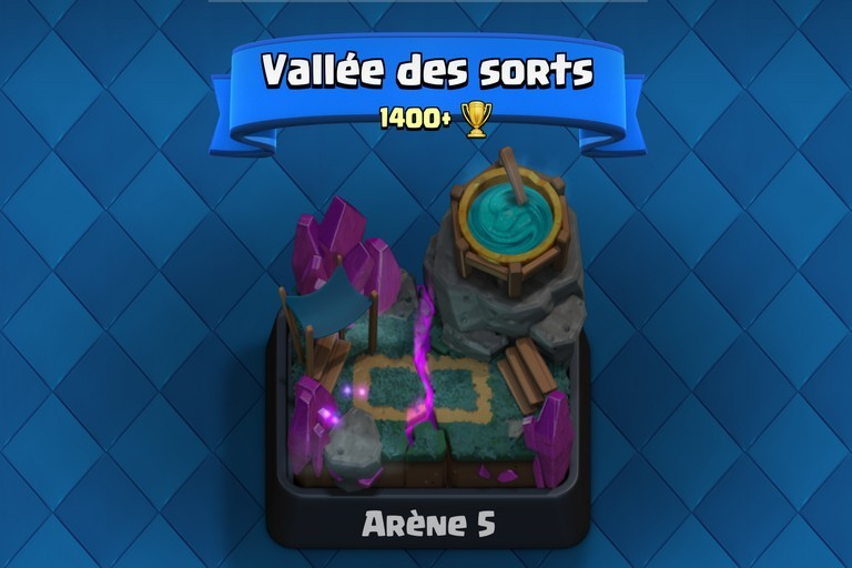 Ar ne 5 vall e des sorts spell valley ar nes clash for Deck arene 5 miroir