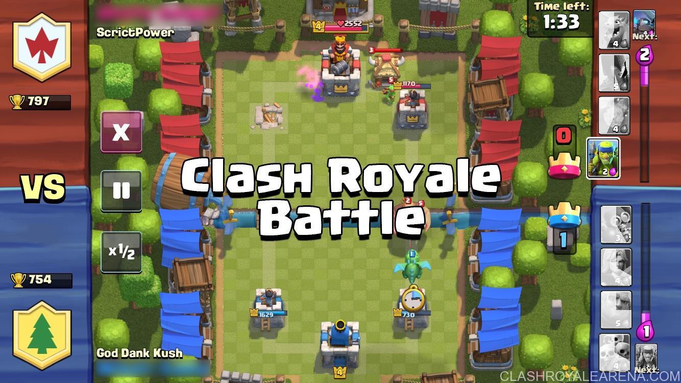 Clash royale : les règles de base