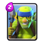 Carte Gobelins à lance Clash Royale (Spear Goblins)