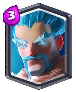 Sorcier de glace ice wizard carte commune clash royale for Deck clash royale sorcier de glace