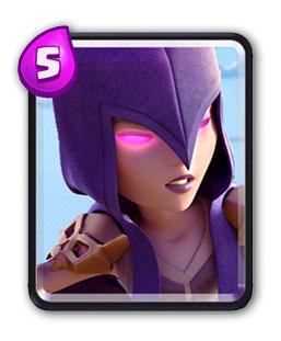 Carte Sorcière Clash Royale (Witch)