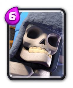 Carte Squelette Géant Clash Royale (Giant Skeleton)
