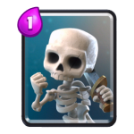 Carte Squelette Clash Royale (Skeletons)