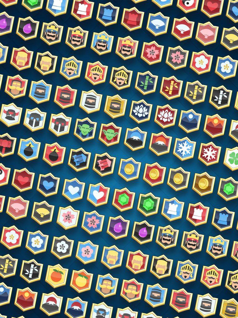 Nouveaux badges Clash Royale