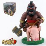 figurine cochon clash royale