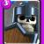Carte équipe Clash Royale Gardes (Guards)