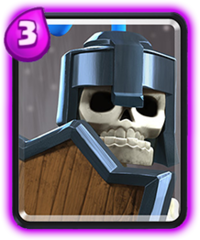 Carte équipe Clash Royale Gardes (Guards)