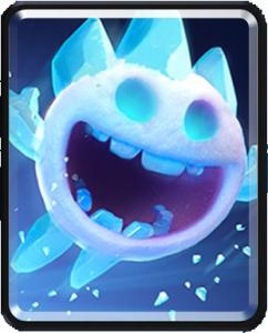 Esprit de glace ice spirit carte commune clash royale for Deck sorcier de glace