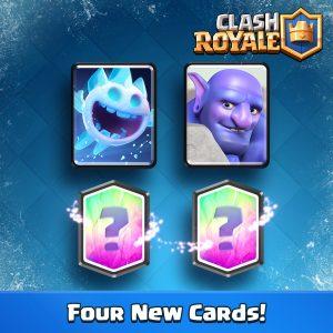 sneak peek cartes clash royale ice spirit bowliste