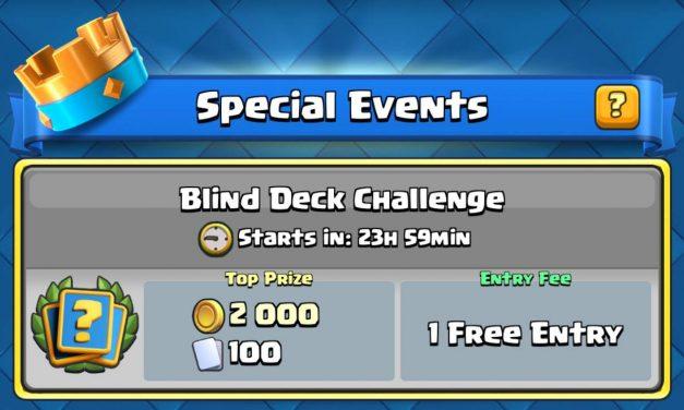 Le challenge «Défi à l'aveugle» maintenant disponible !