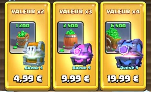Offre des Fêtes – 20€ dépensés pour 80€ de Gemmes !