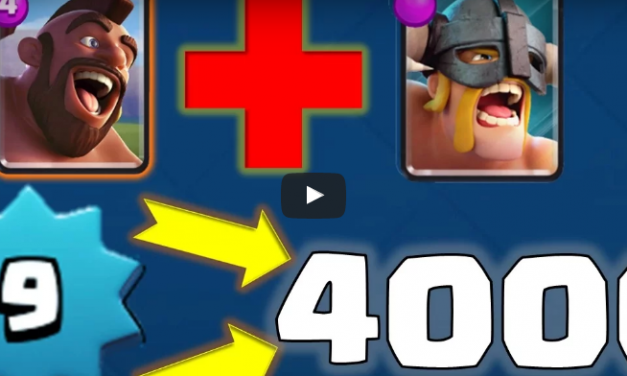Le Meilleur Deck Barbares d'Elite pour Clash Royale !