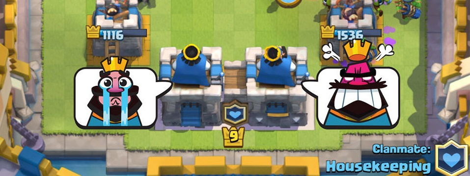 Combat par équipe 2 contre 2 (Team Battle Mode 2v2 – Clan Battle) sur Clash Royale !