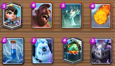Meilleurs deck arene 4 parc pekkaland clash royale for Meilleur deck arene 4