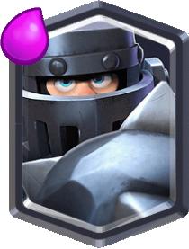 Mega Chevalier Mega Knight Carte Légendaire Clash Royale