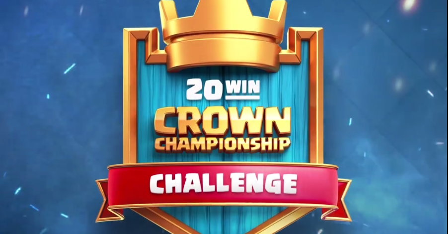 Le Défi du Crown Chamionship sur Clash Royale !