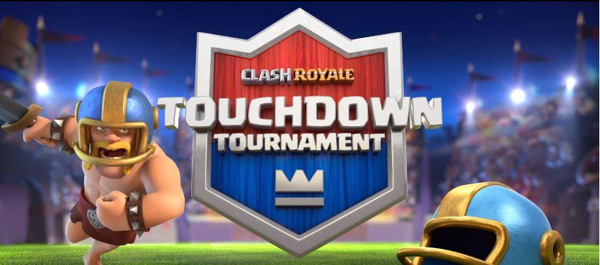 Mode touchdown dans Clash Royale