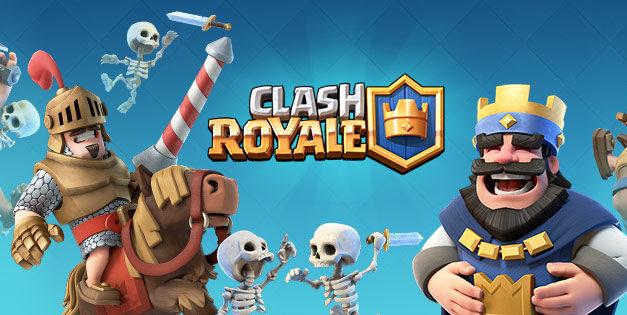 Clash Royale dans le top 5 des jeux de stratégie sur Android
