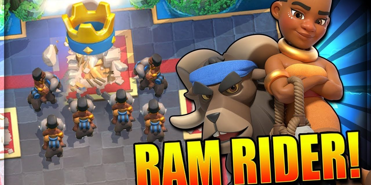 clash royal nouvelle carte Cavabélier (Ram Rider) : Nouvelle Carte Légendaire Clash Royale